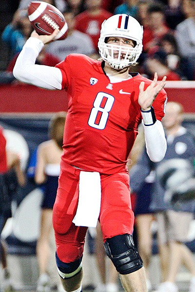 Arizona quarterback Nick Foles
