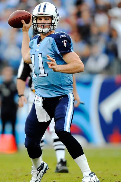 Tennessee Titans quarterback Rusty Smith