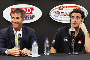 Randy Bernard and Dario Franchitti