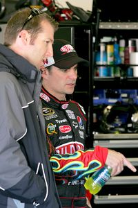 Alan Gustafson and Jeff Gordon