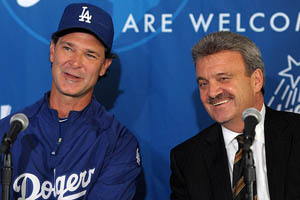 Ned Colletti & Don Mattingly