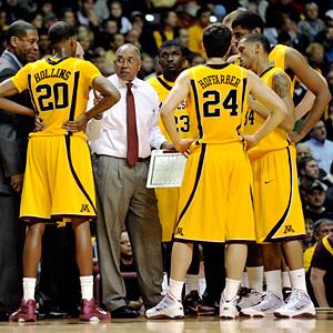 Minnesota coach Tubby Smith