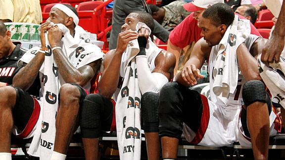 James, Wade, Bosh