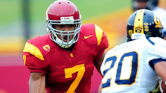 T.J. McDonald's stats through two years at USC almost mirror those of his father.