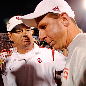 Bob Stoops and Bo Pelini