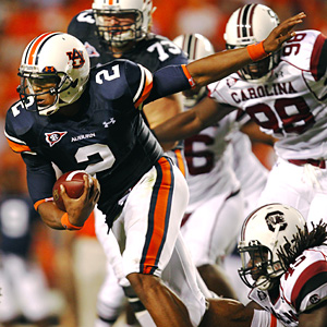 Auburn quarterback Cam Newton