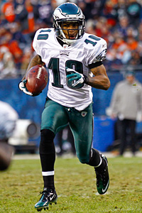 Eagles wide receiver DeSean Jackson