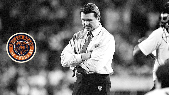 Mike Ditka and Buddy Ryan nearly came to blows during halftime of the Bears' only loss in '85.