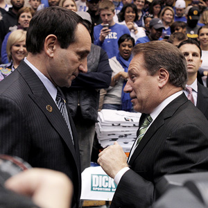 Coach K & Tom Izzo