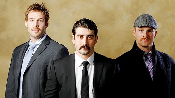 Minnesota Wild moustaches