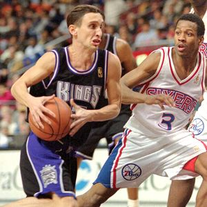 Bobby Hurley and Allen Iverson