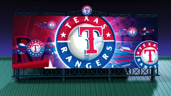 Rangers' Video Board