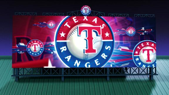 Rangers' Video Board