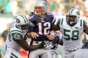 Tom Brady  and New York Jets