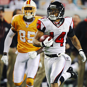 Atlanta Falcons wide receiver Eric Weems