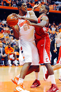 Syracuse Orange center Fab Melo