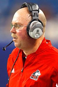 Northern Illinois Huskies head coach Jerry Kill