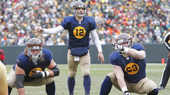 a1318918514 The Green Bay Packers wore polarizing throwback uniforms on Sunday ...