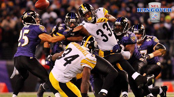 Steelers-Ravens (NFL Hangover)