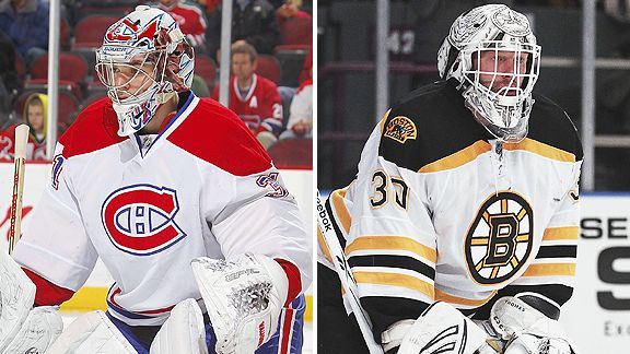 Carey Price and Tim Thomas