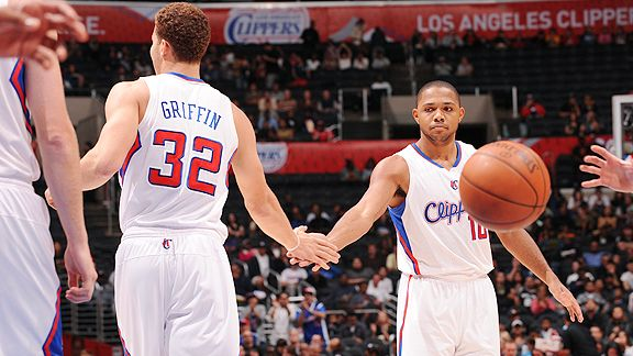 Eric Gordon and Blake Griffin