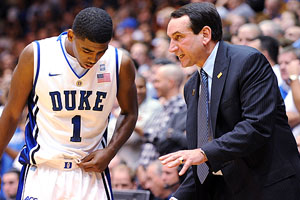 Kyrie Irving & Coach K