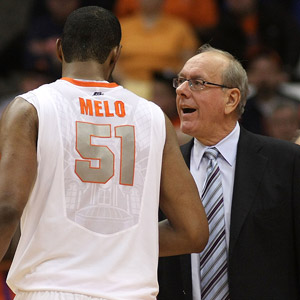 Jim Boeheim and Fab Melo