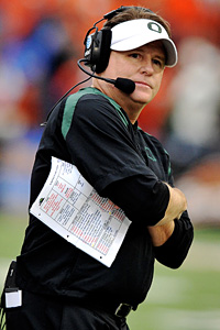 Chip Kelly on Steve Dykes Getty Images Chip Kelly Says The Ducks Are Not Playing For
