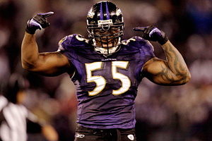 Baltimore's Terrell Suggs