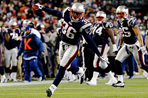 New England's James Sanders