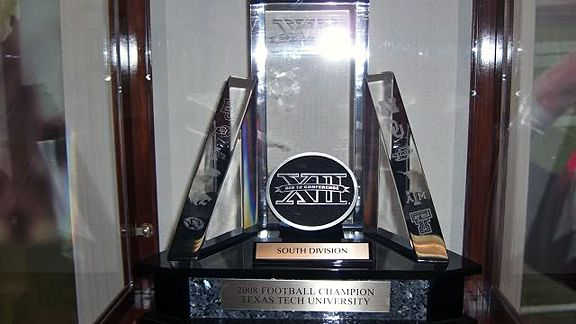 Big 12 South trophy