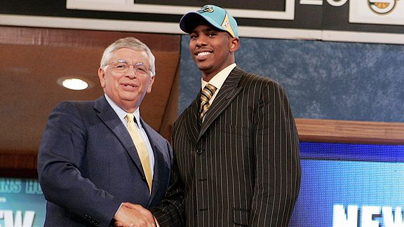 David Stern and Chris Paul