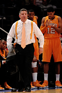 Tennessee coach Bruce Pearl