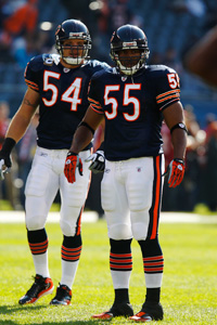 Brian Urlacher and Lance Briggs