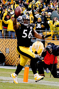 Pittsburgh's LaMarr Woodley