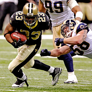 New Orleans' Pierre Thomas
