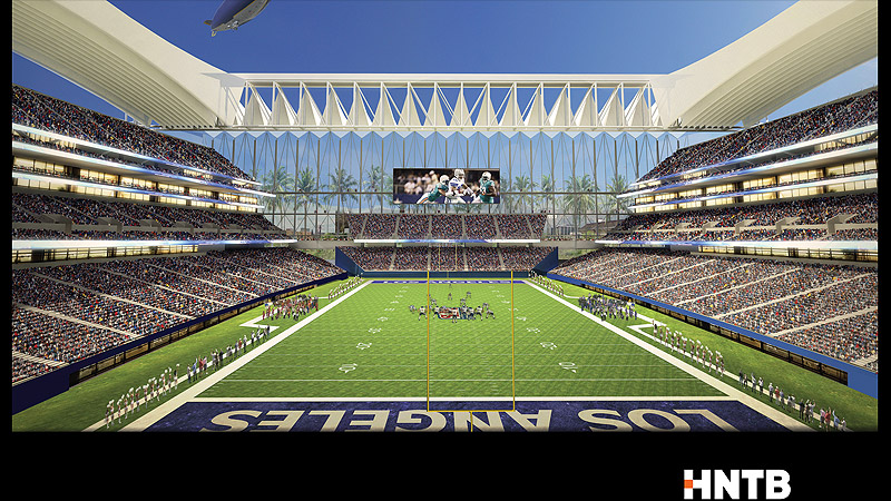 Los Angeles Stadium Concepts - LA Football Stadium Drafts - ESPN