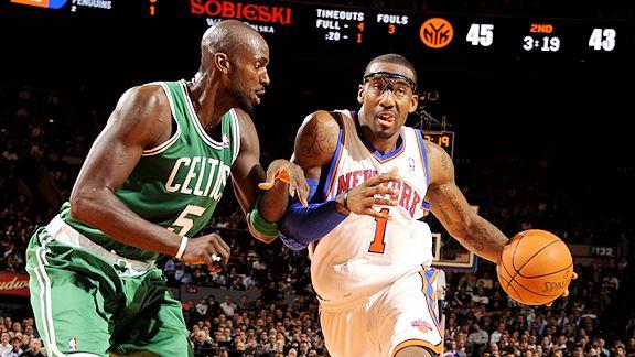 Celtics ponen en su sitio a Knicks