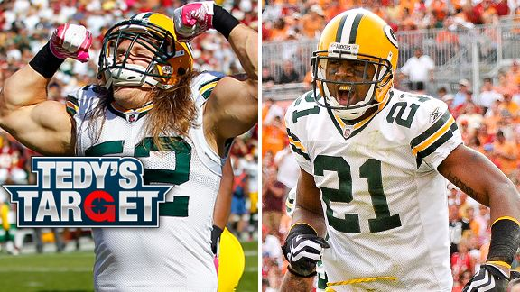 Clay Matthews and Charles Woodson