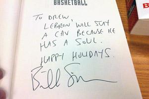 Bill Simmons autograph