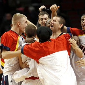 UIC celebrates upset