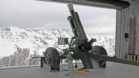 Alta's new 105mm Howitzer, installed in September, will fire approximately 200 rounds annually and it's rated to shoot up to 30,000 rounds.