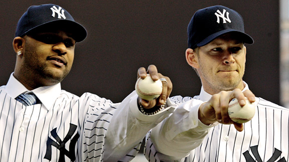 CC Sabathia & A.J. Burnett