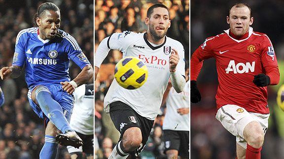 Drogba/Dempsey/Rooney