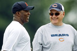 Lovie Smith and Mike Martz