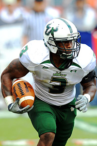 South Florida Bulls running back Moise Plancher