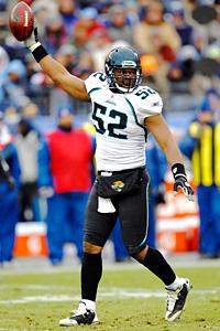 Jacksonville Jaguars linebacker Daryl Smith