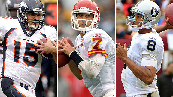 Tim Tebow/Matt Cassel/Jason Campbell