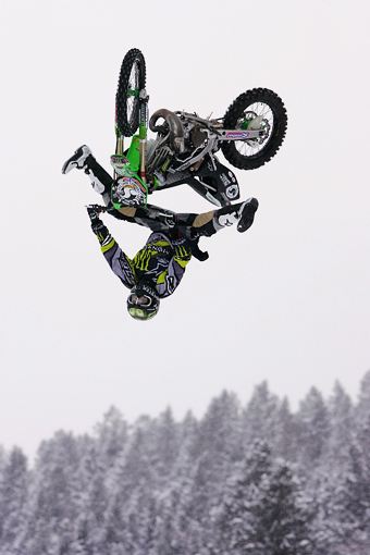 By the time FMX was so ubiquitous at action sports competitions that it was even being contested at Winter X, Metzger had all but checked out of the competition scene.