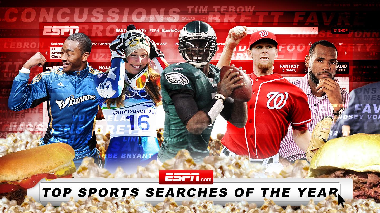 ESPN.com's Top Sports Searches of 2010 - ESPN